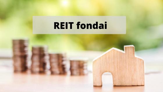 Investicija į NT per REIT fondus
